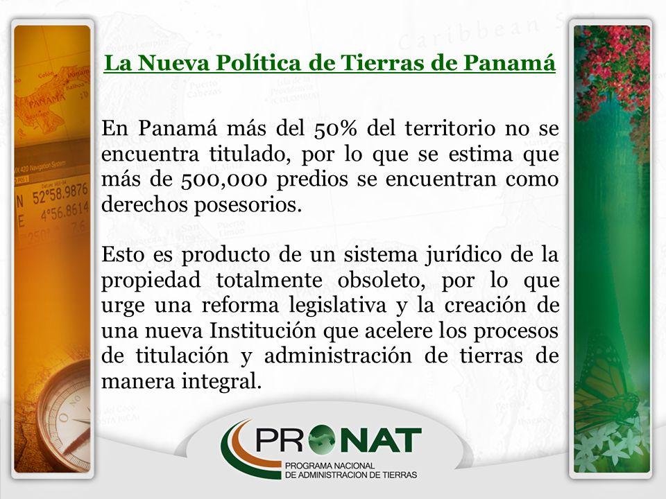 La Nueva Política de Tierras de Panamá