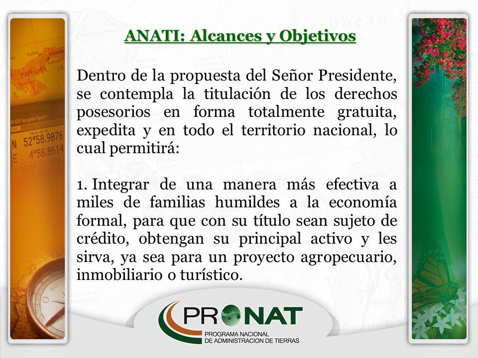 ANATI: Alcances y Objetivos