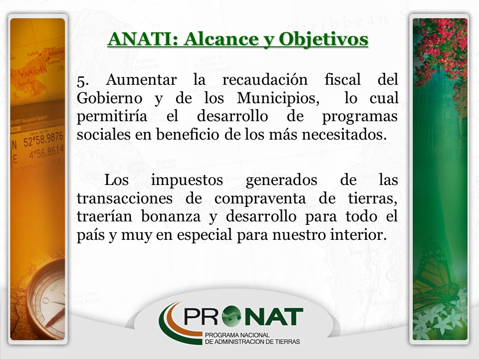 ANATI: Alcance y Objetivos