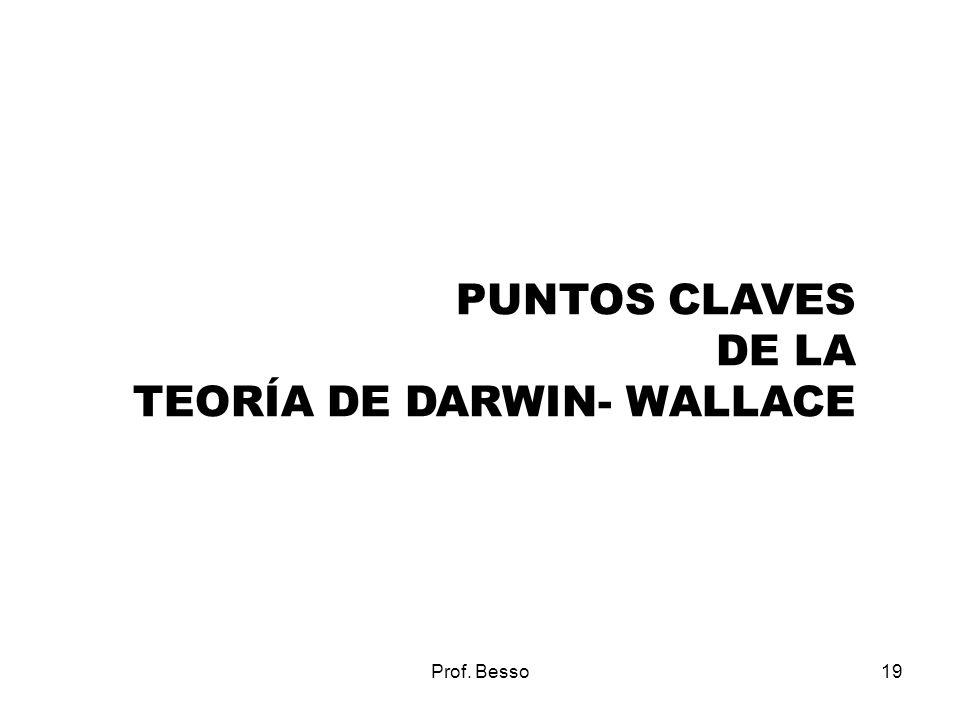 TEORÍA DE DARWIN- WALLACE