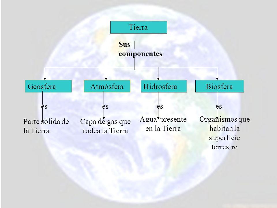 Agua presente en la Tierra