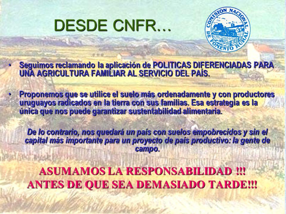 ASUMAMOS LA RESPONSABILIDAD !!! ANTES DE QUE SEA DEMASIADO TARDE!!!
