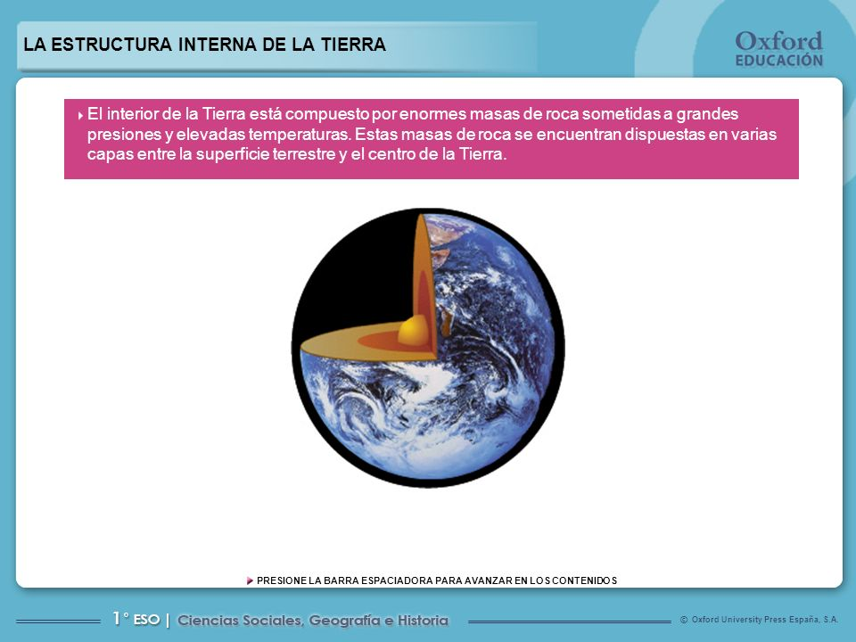 La Estructura Interna De La Tierra Ppt Video Online Descargar