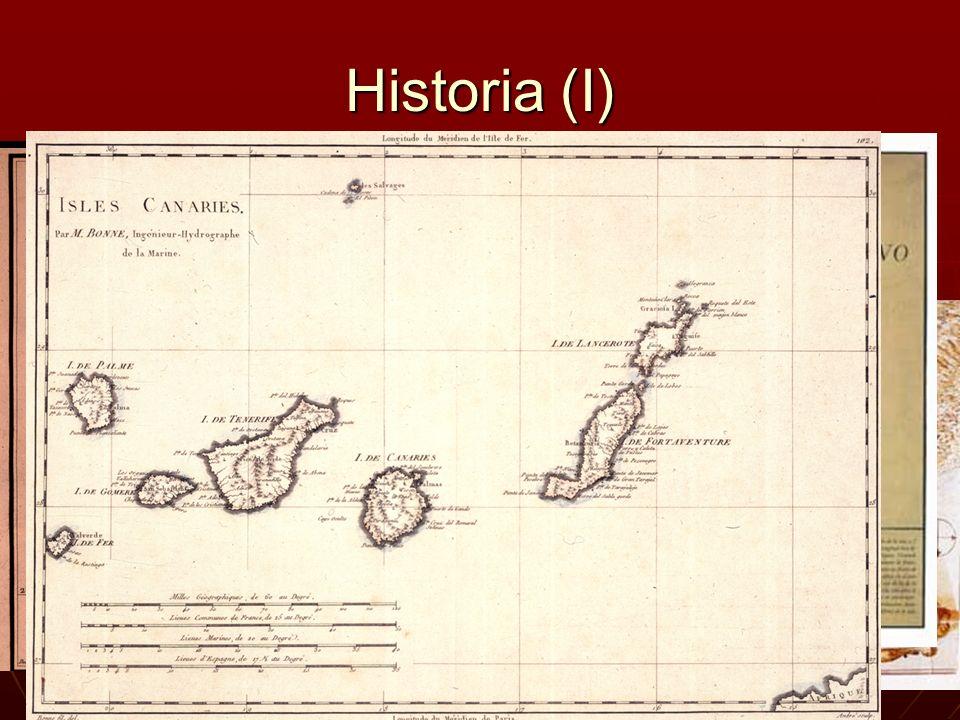 Historia (I) Desde Siempre se ha querido conocer la zona donde uno vive. Y por ello se ha intentado hacer mapas de la zonas que uno posee.