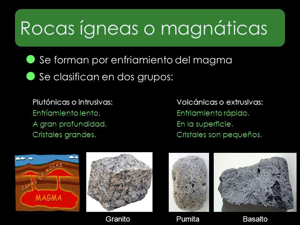 Rocas ígneas o magnáticas