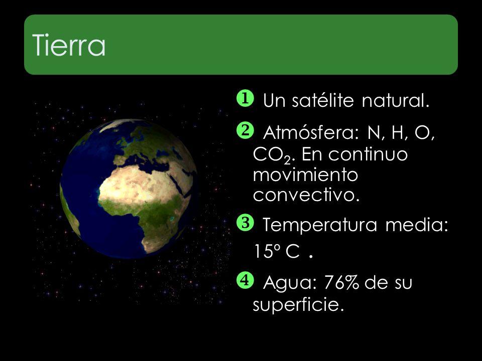 Tierra  Un satélite natural.