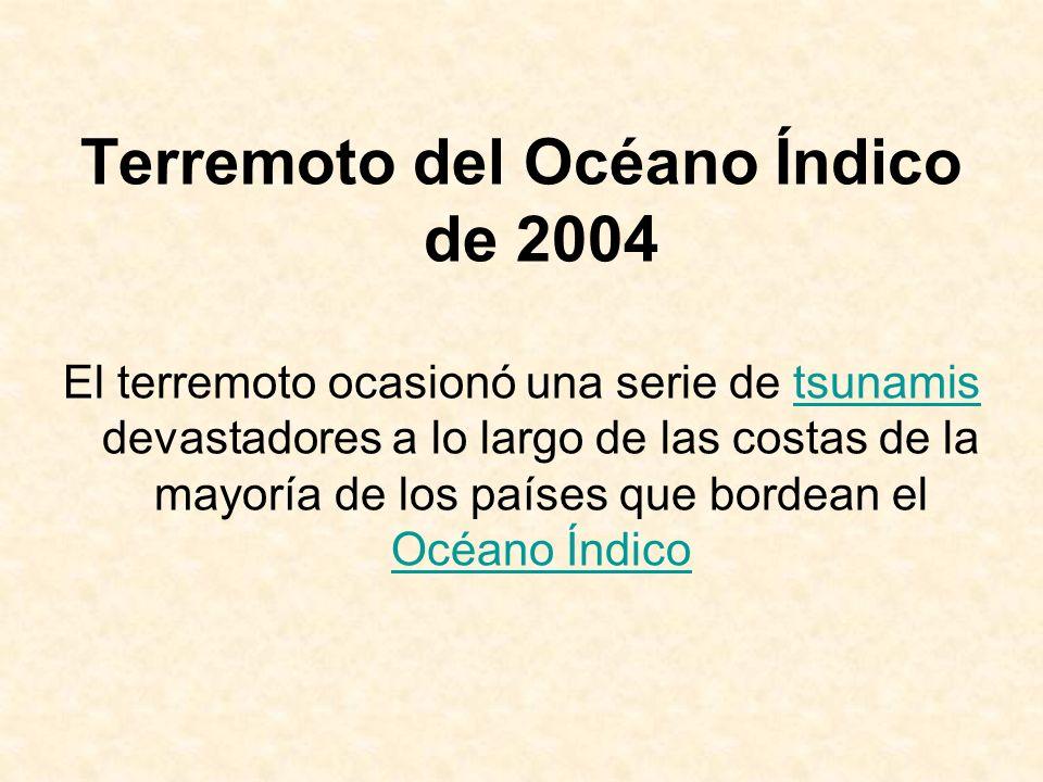 Terremoto del Océano Índico de 2004