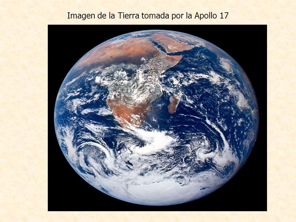 Imagen de la Tierra tomada por la Apollo 17
