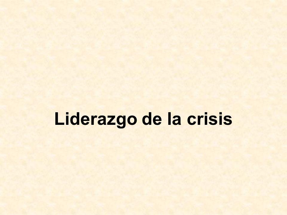 Liderazgo de la crisis