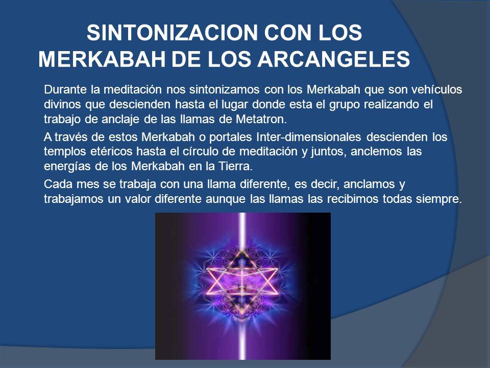 SINTONIZACION CON LOS MERKABAH DE LOS ARCANGELES
