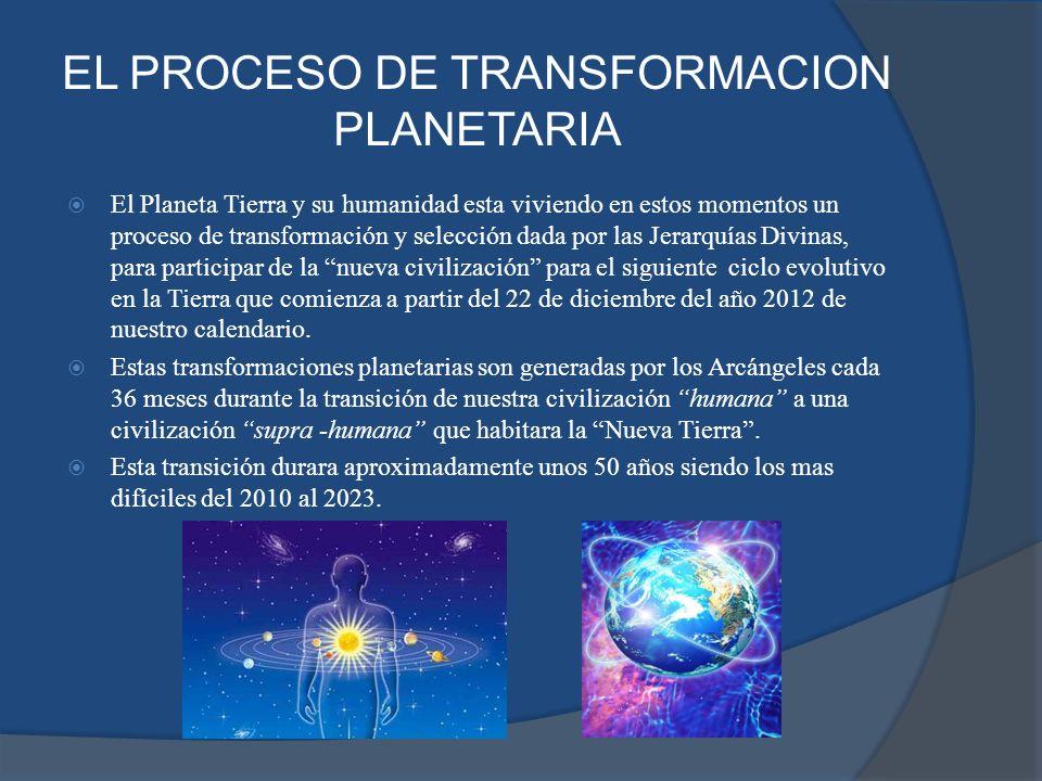 EL PROCESO DE TRANSFORMACION PLANETARIA