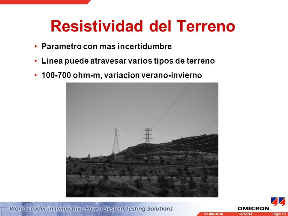 Resistividad del Terreno