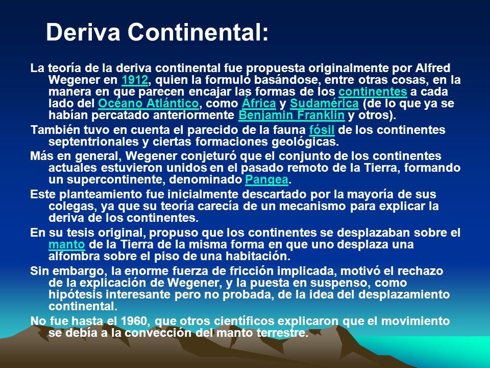 Deriva Continental: