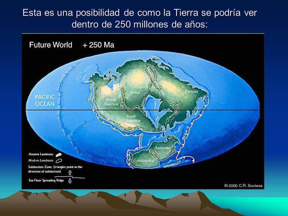 Esta es una posibilidad de como la Tierra se podría ver dentro de 250 millones de años:
