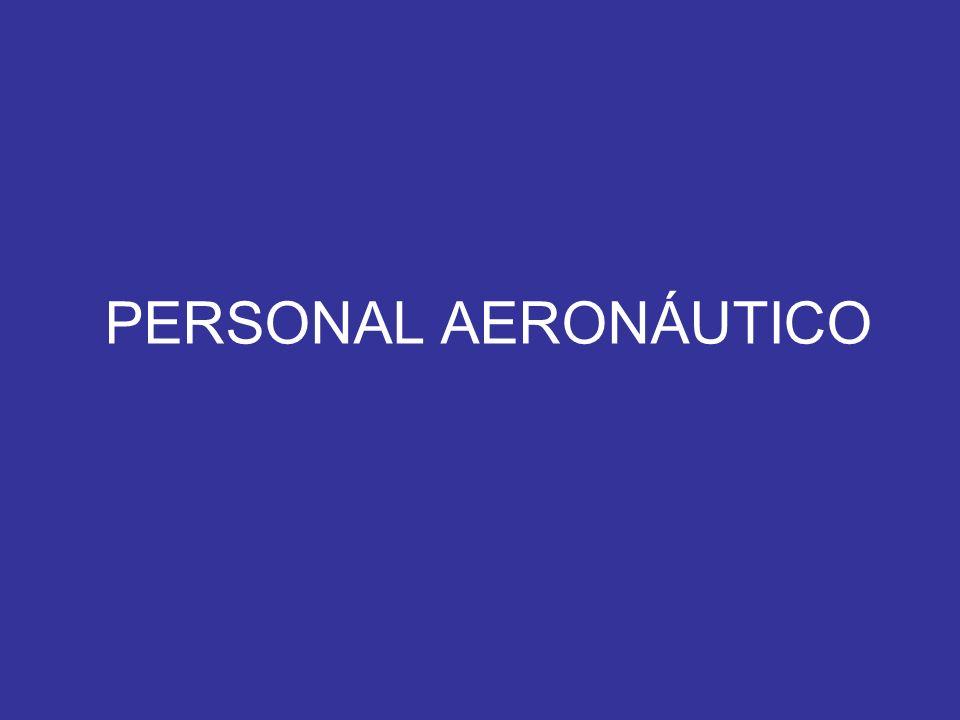 PERSONAL AERONÁUTICO