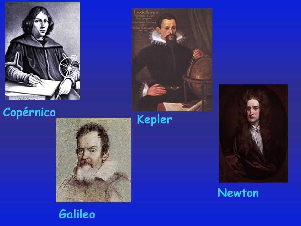 Copérnico Kepler Newton Galileo
