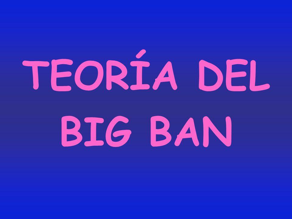 TEORÍA DEL BIG BAN
