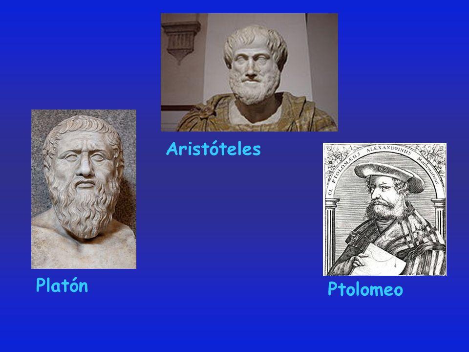 Aristóteles Platón Ptolomeo
