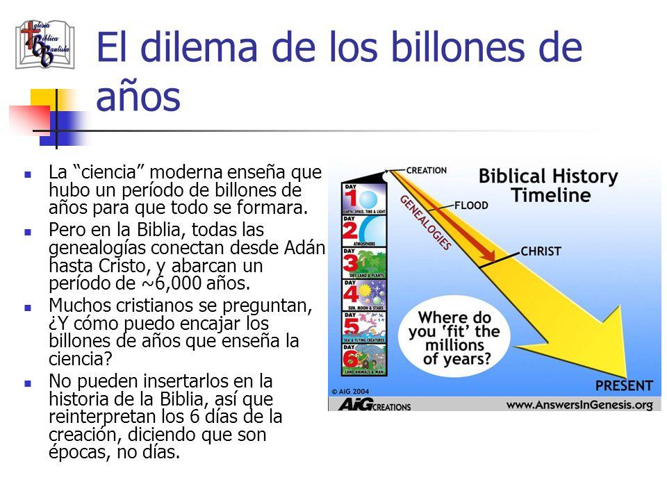 El dilema de los billones de años