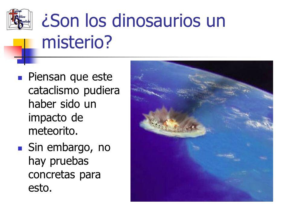 ¿Son los dinosaurios un misterio