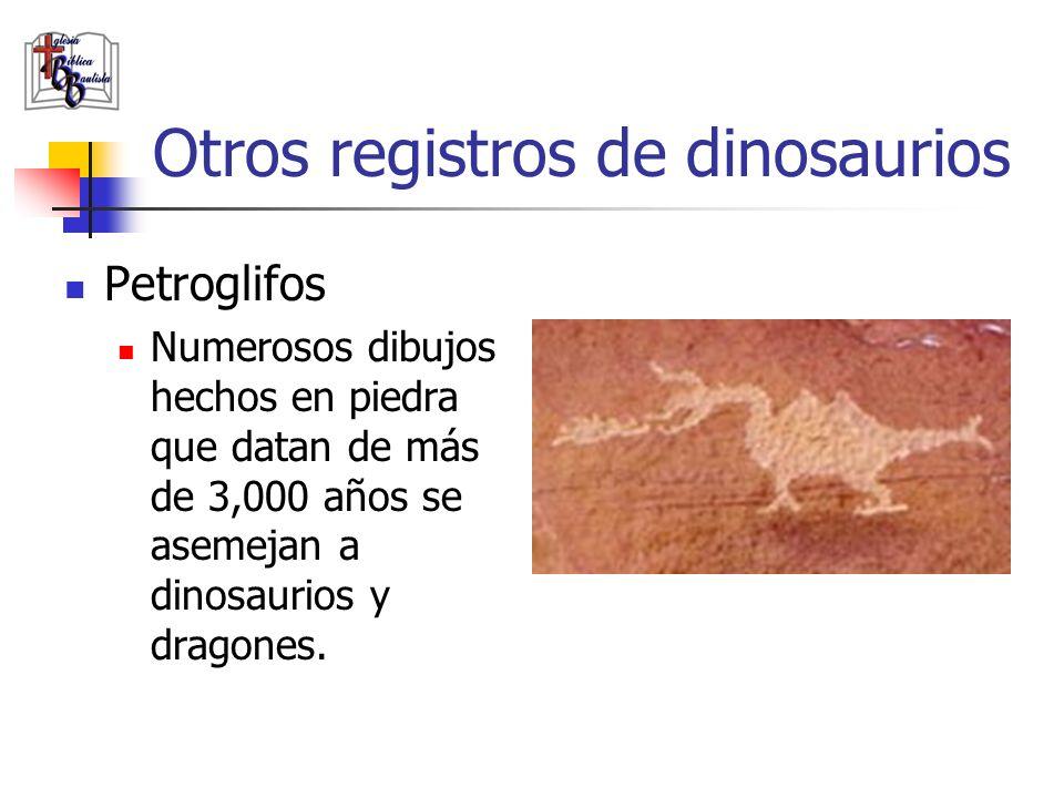 Otros registros de dinosaurios