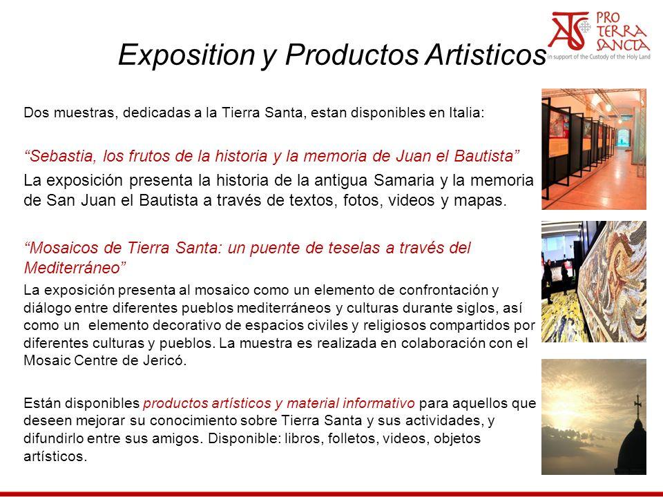 Exposition y Productos Artisticos