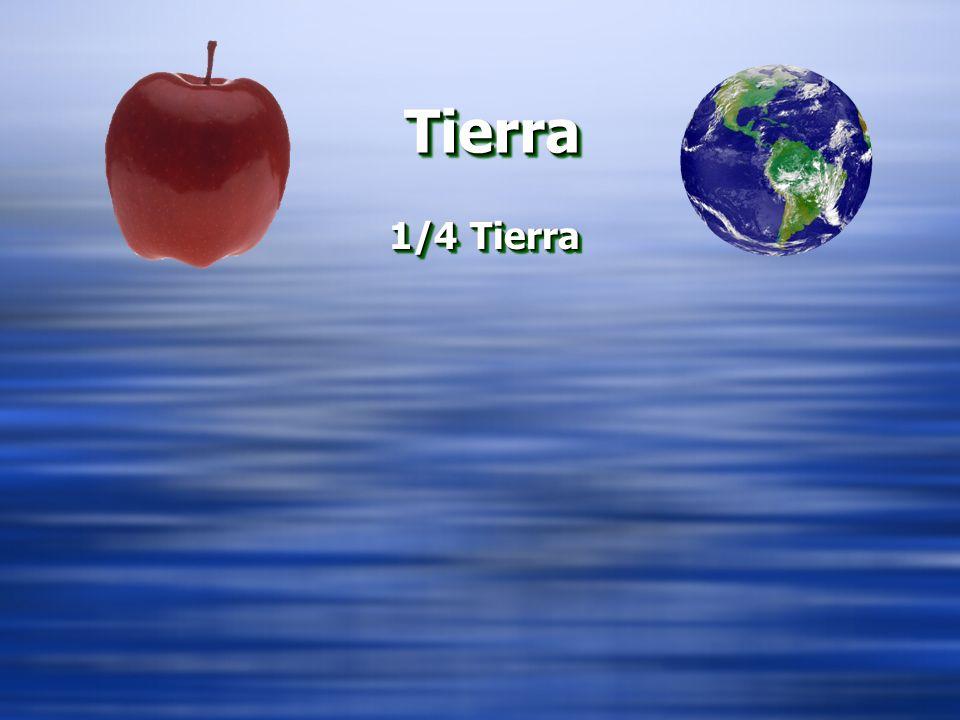 Tierra 1/4 Tierra CORTAR LA MANZANA – ¼ Y ¾ TIERRA Y OCEANO
