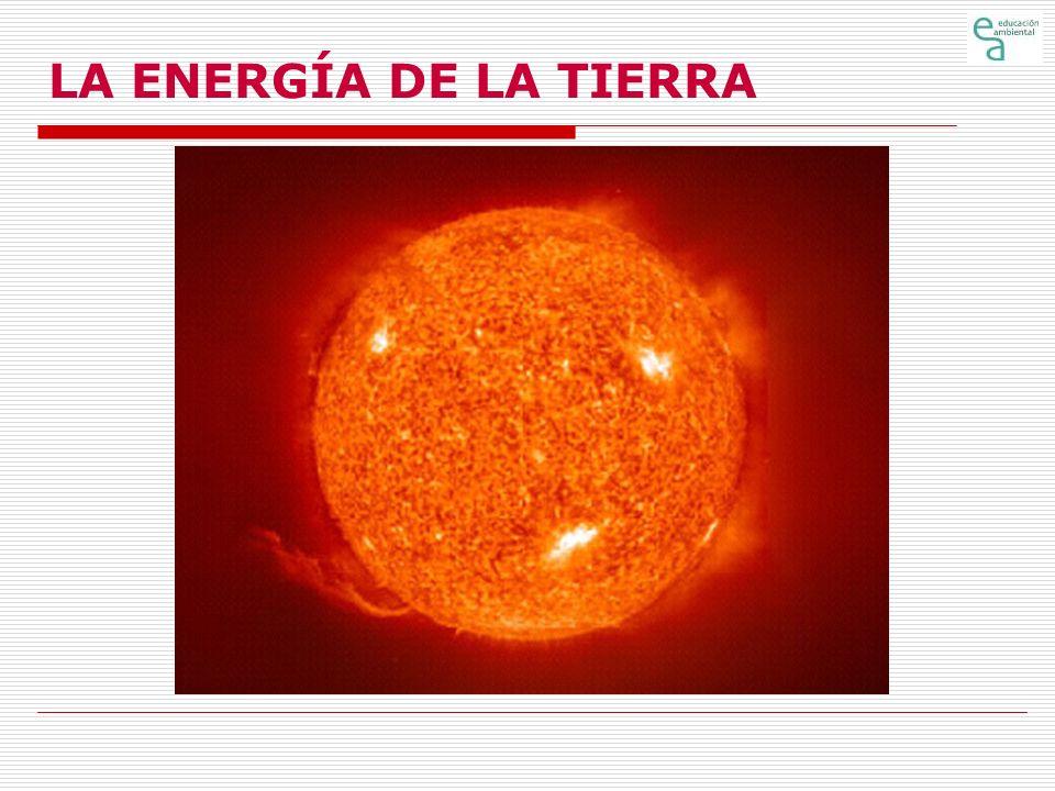 LA ENERGÍA DE LA TIERRA