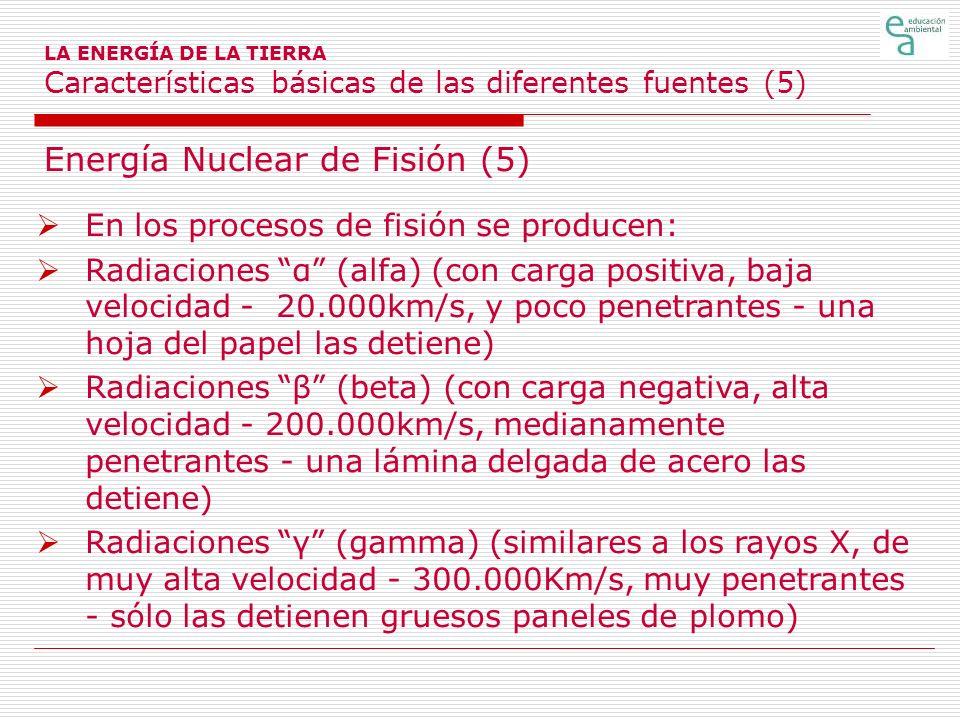 Energía Nuclear de Fisión (5)