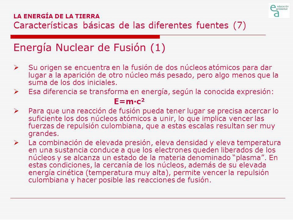 Energía Nuclear de Fusión (1)