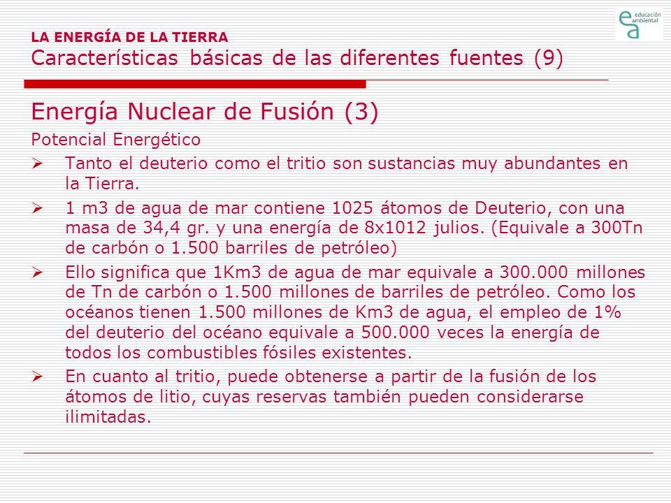 Energía Nuclear de Fusión (3)