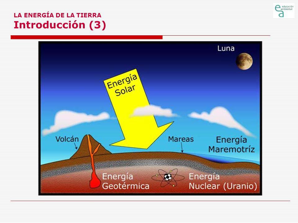 LA ENERGÍA DE LA TIERRA Introducción (3)