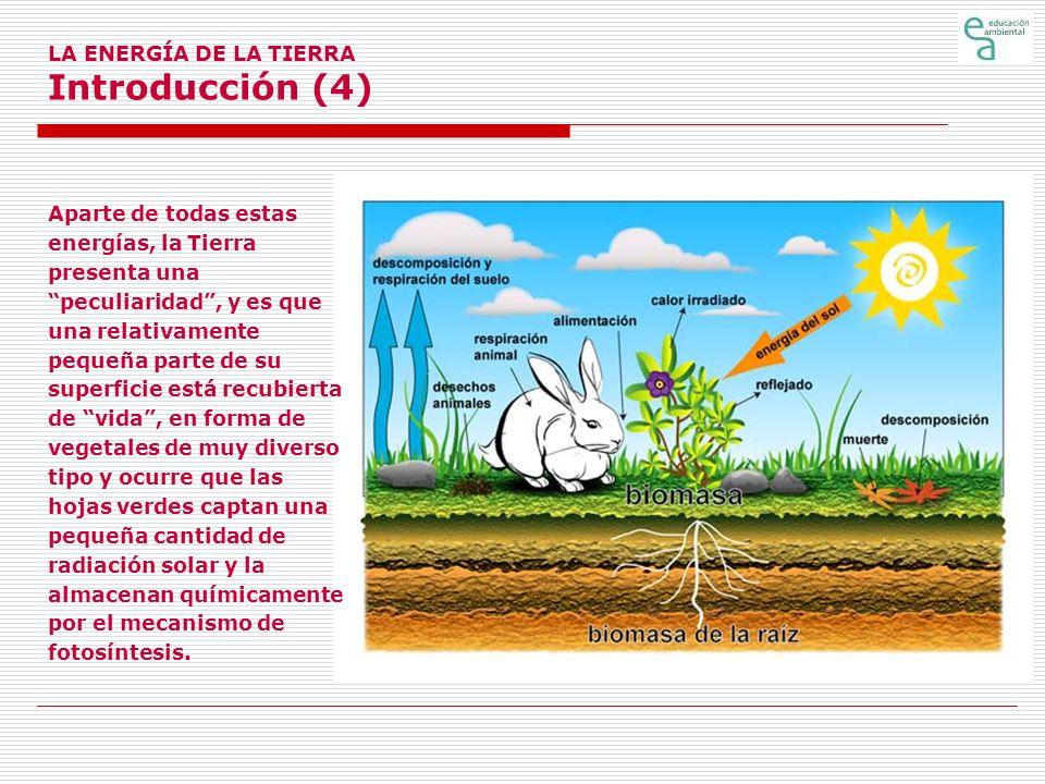 LA ENERGÍA DE LA TIERRA Introducción (4)