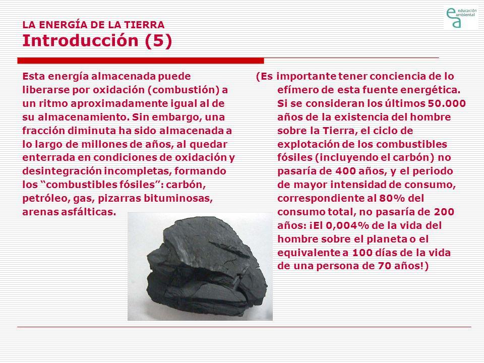 LA ENERGÍA DE LA TIERRA Introducción (5)