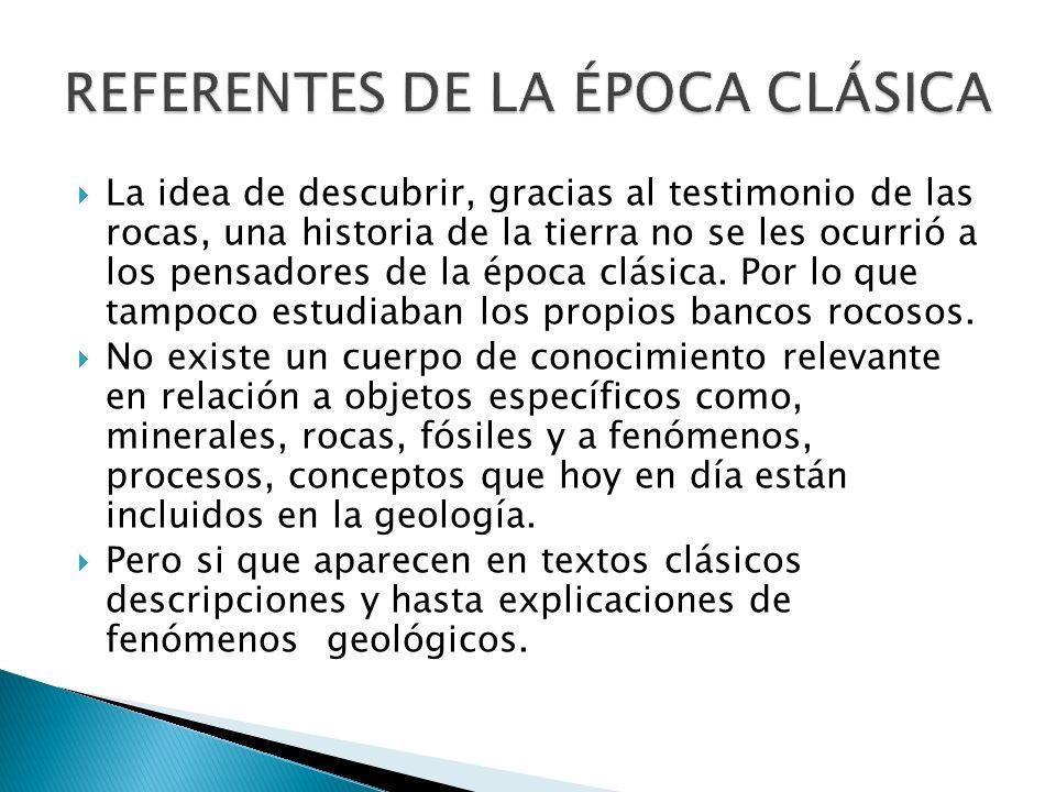 REFERENTES DE LA ÉPOCA CLÁSICA