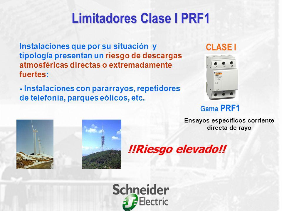 Limitadores Clase I PRF1