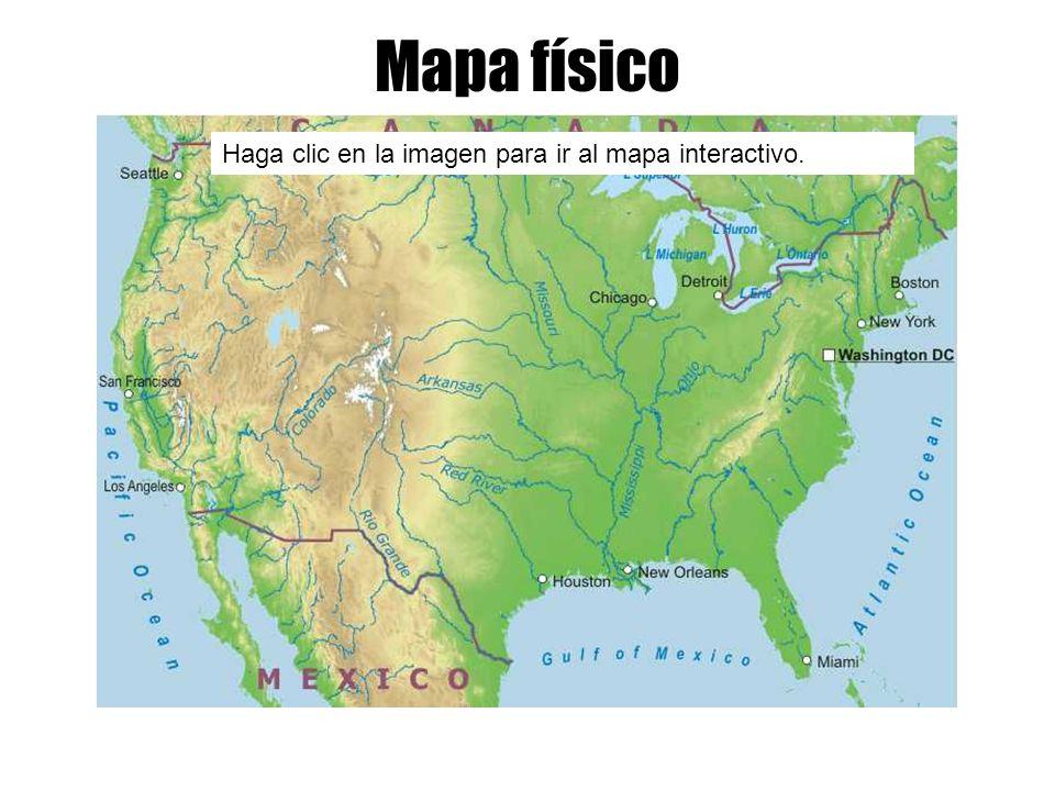 Mapa físico Haga clic en la imagen para ir al mapa interactivo.