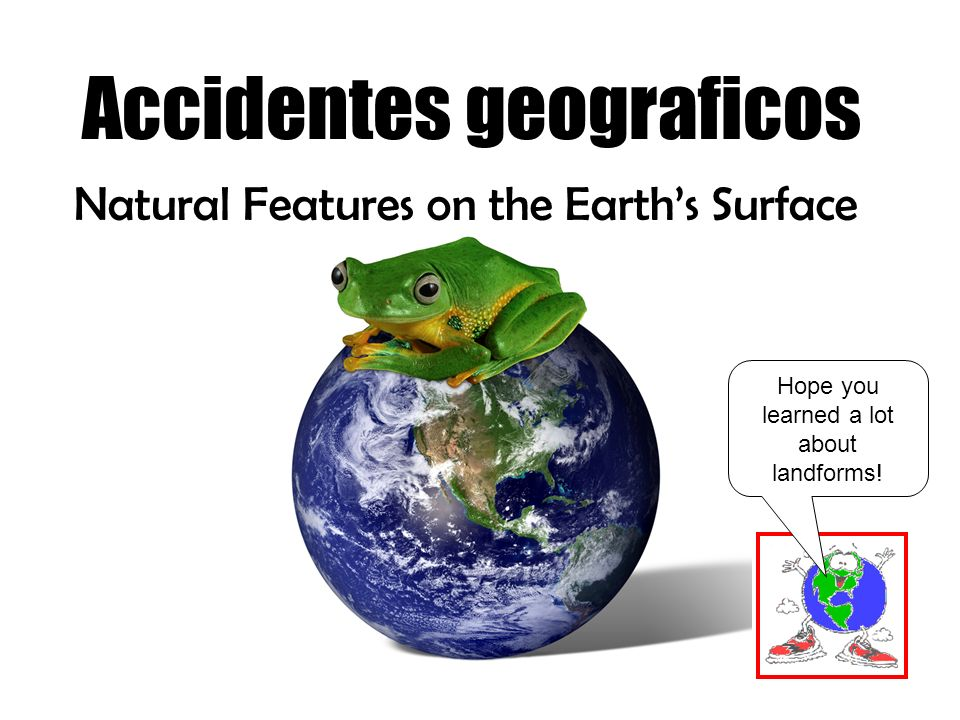 Accidentes geograficos