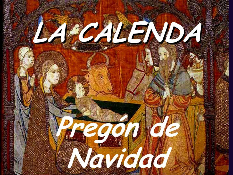 LA CALENDA Pregón de Navidad