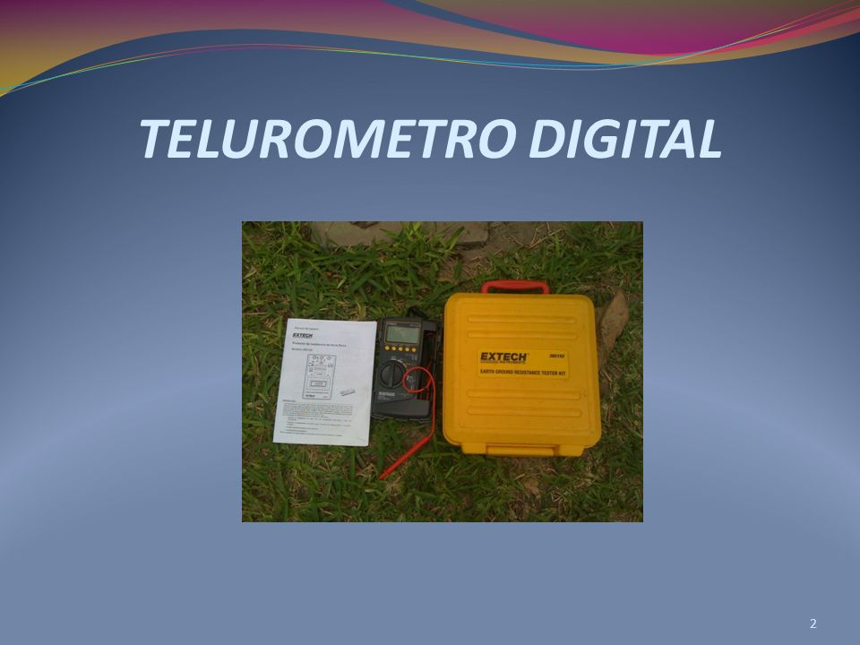 TELUROMETRO DIGITAL