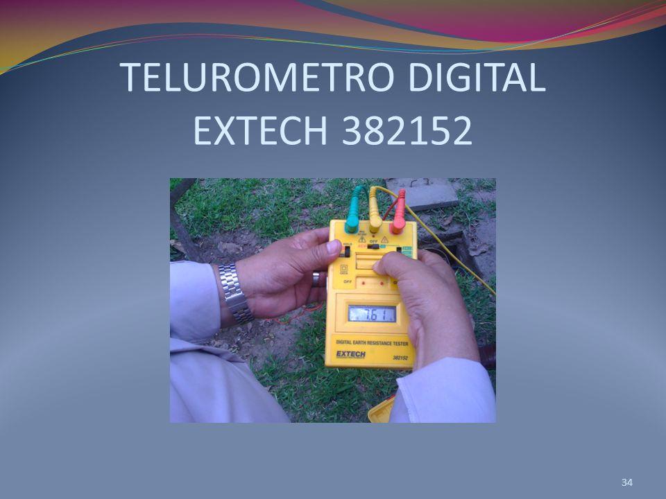 TELUROMETRO DIGITAL EXTECH 382152