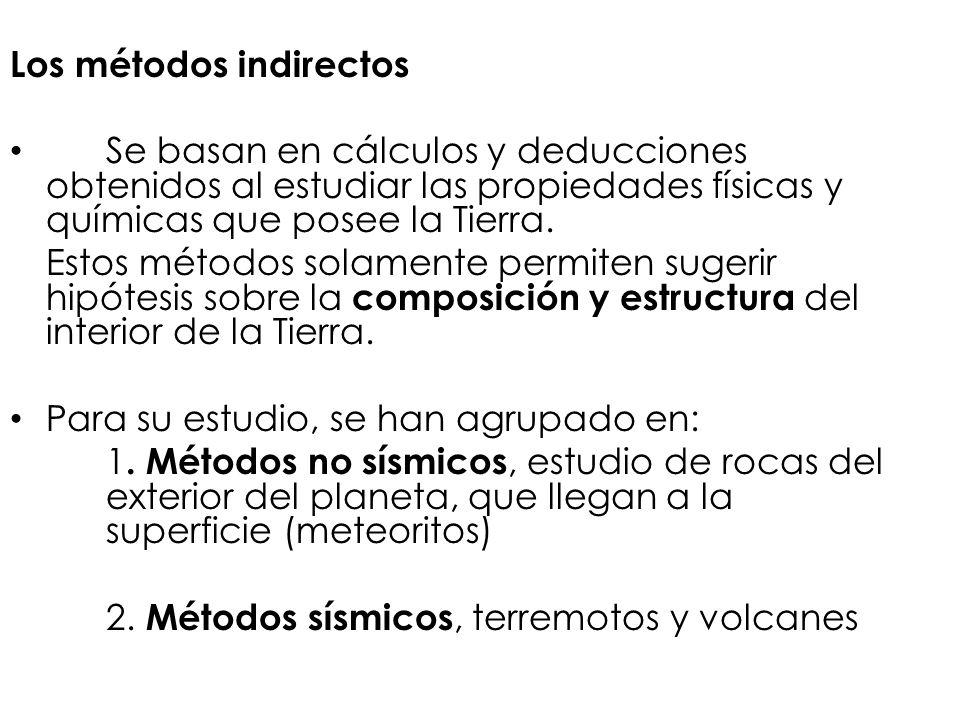 Los métodos indirectos