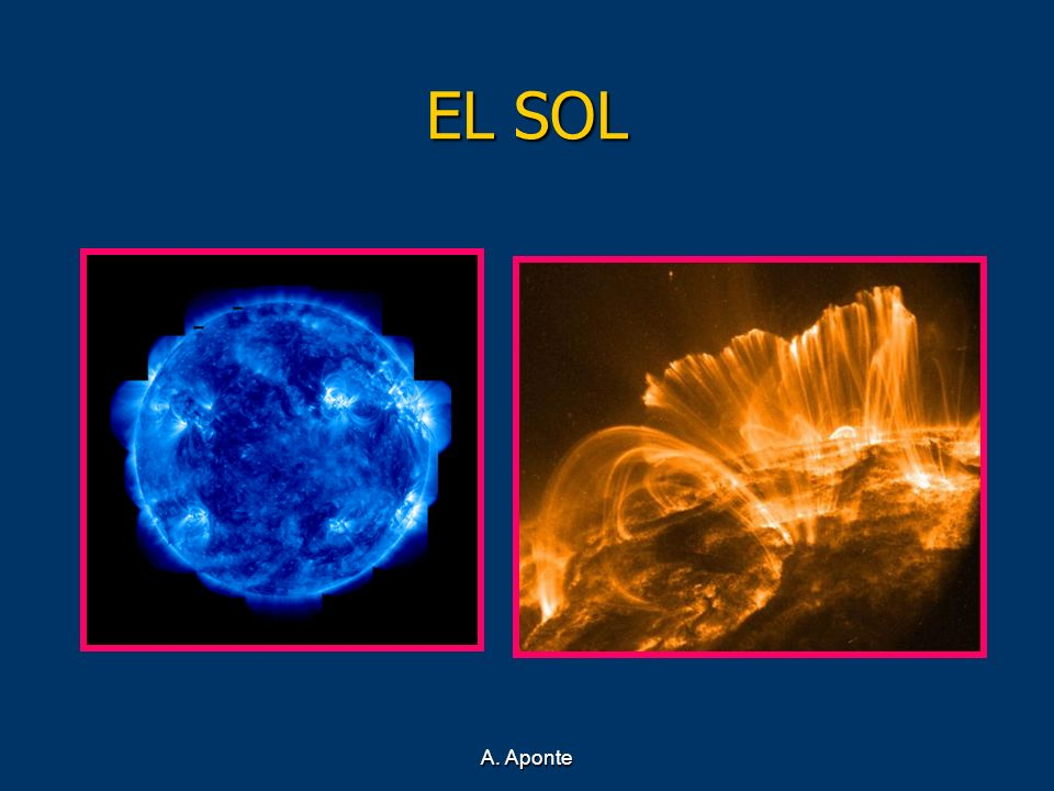 EL SOLLa imagen de la izquierda está tomada con luz ultravioleta.