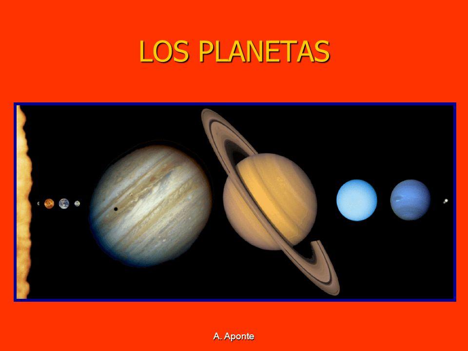 LOS PLANETAS En el Sistema Solar podemos distinguir dos tipos de planetas: