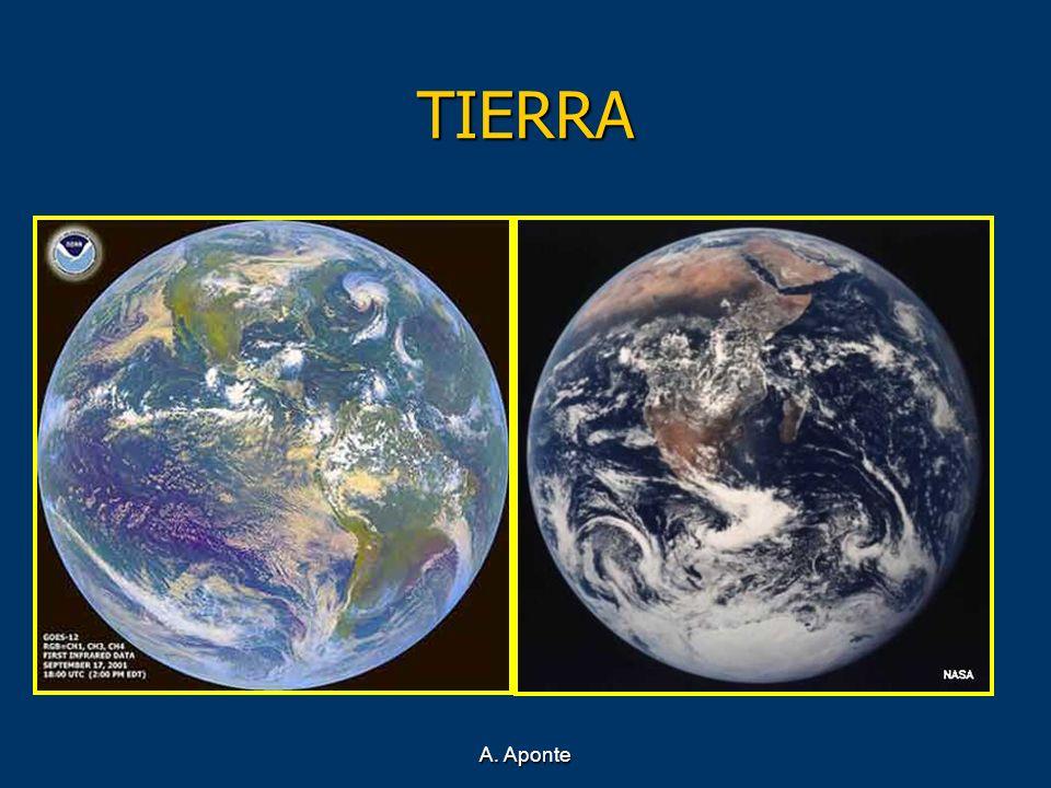 TIERRA Tercer planeta del Sistema Solar, situado a una distancia media de 150 millones de kilómetros del Sol.