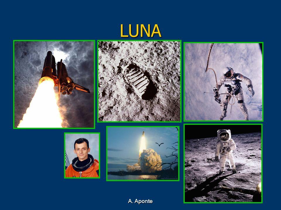 LUNA A. Aponte El primer satélite artificial: Sputnik (04- 10- 57)