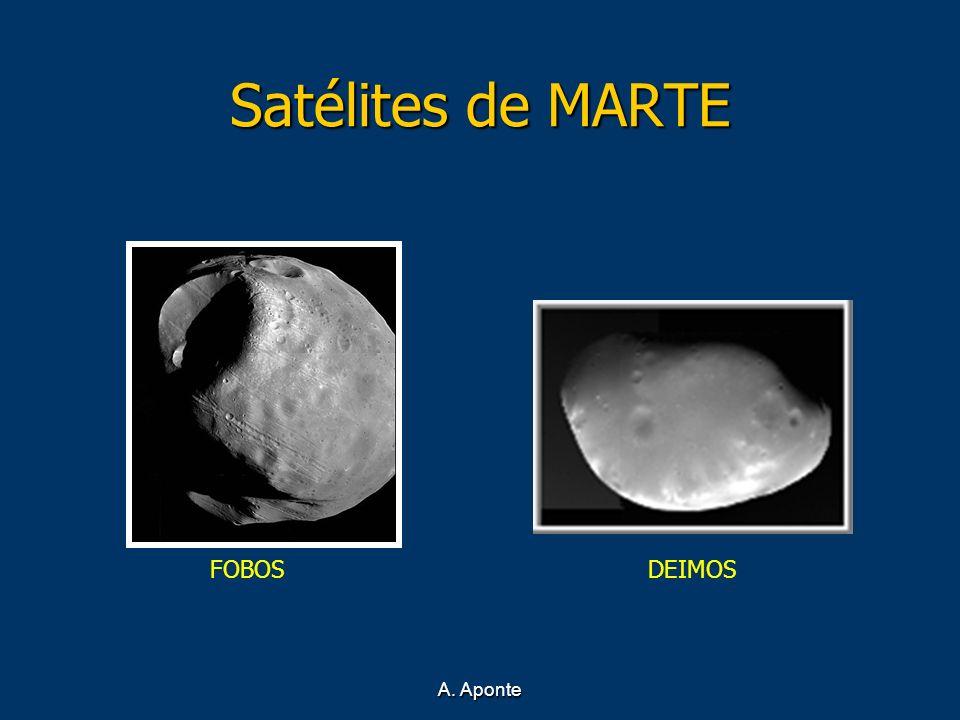Satélites de MARTE FOBOS DEIMOS A. Aponte