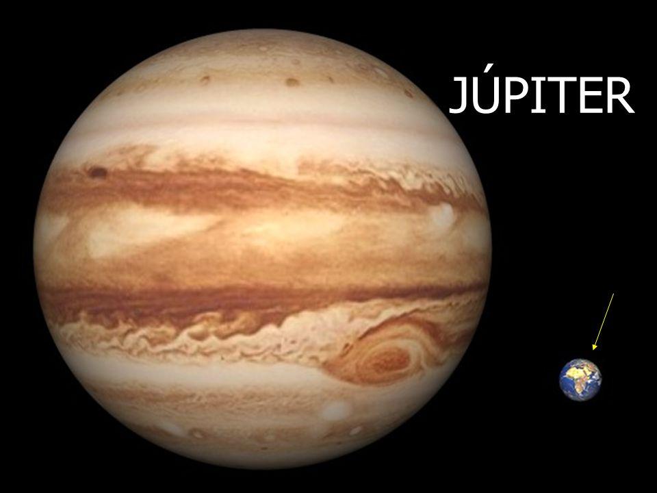 JÚPITER A. Aponte Tamaños comparativos de Júpiter y la Tierra.