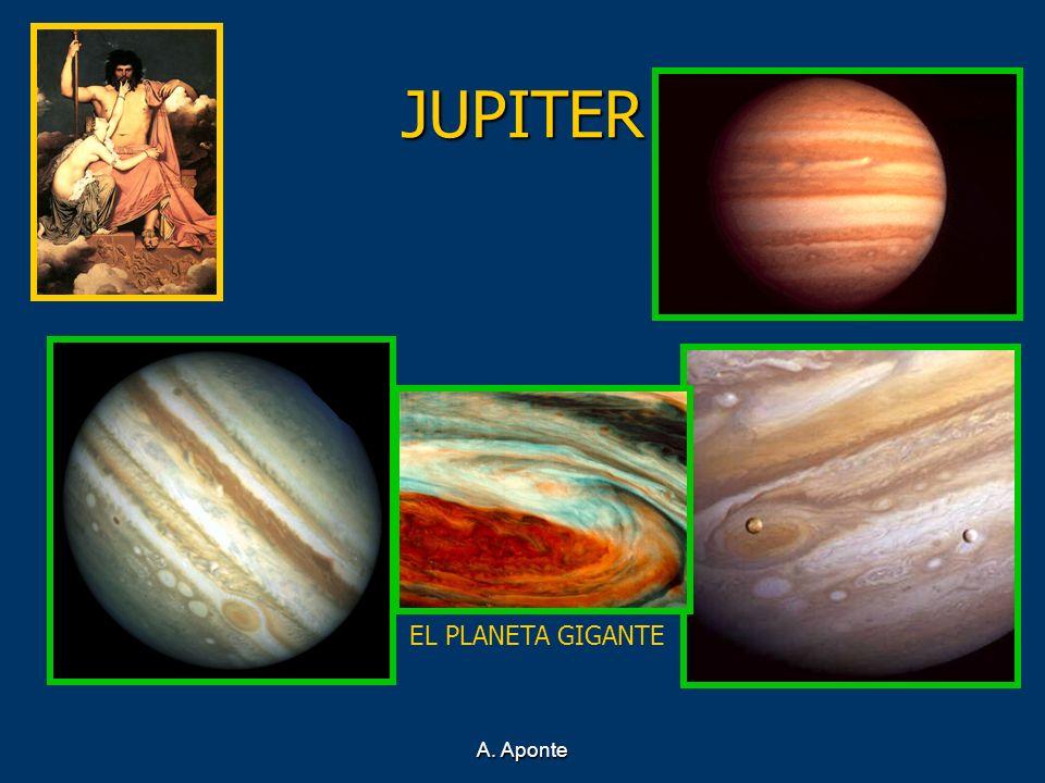 JUPITER EL PLANETA GIGANTE A. Aponte