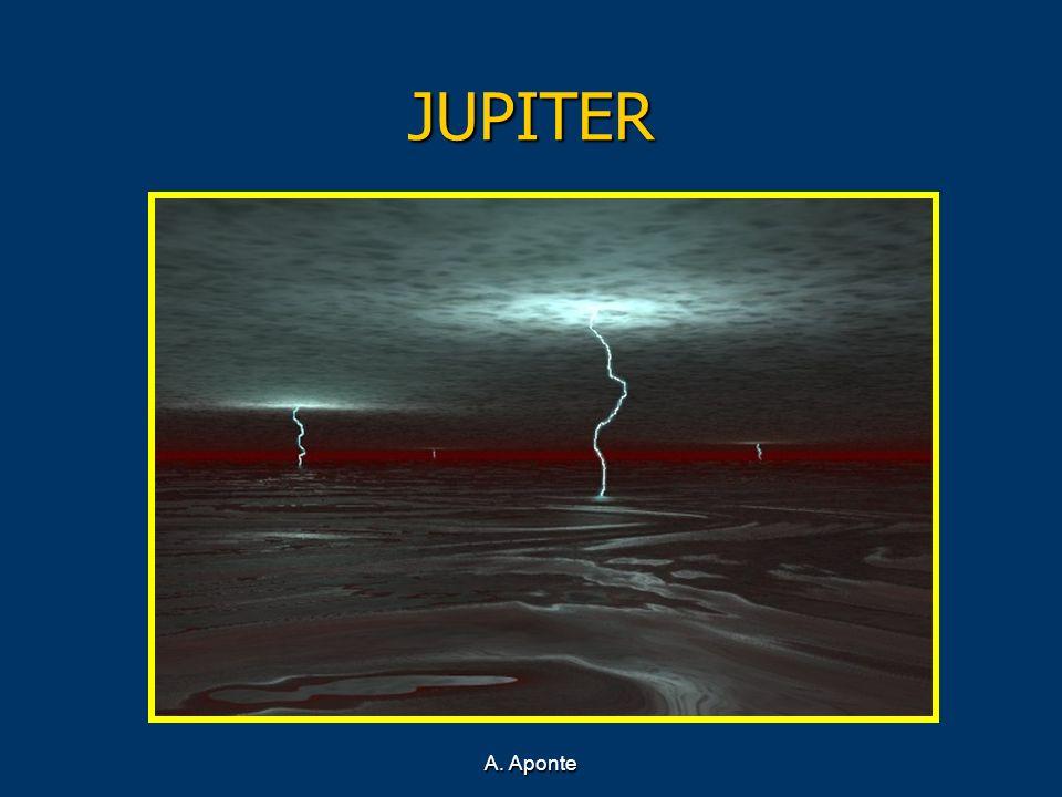 JUPITER Recreación del océano de hidrógeno de Júpiter A. Aponte